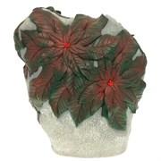 Камень декоративный с зелеными листьями L45W12H42 см.