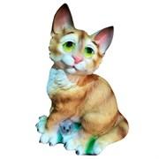 Фигура декоративная Кот задумчивый L17 W17H25 см.