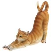 Фигура декоративная Кошка рыжая L36H33 см.