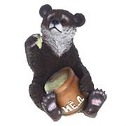 Изделие декоративное Медведь с медом L32W44H50.5 см.