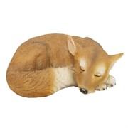 Фигура садовая Лисичка спящая L30W21H10 см.