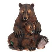 Фигура садовая Два медведя Н50 см.