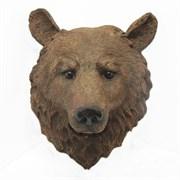 Фигура садовая Голова медведя L34W23H42 см.