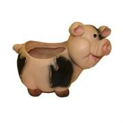 Кашпо декоративное Свинка L24W14H17 см.