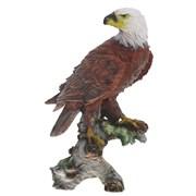 Фигура садовая Орел на коряге H32 см.