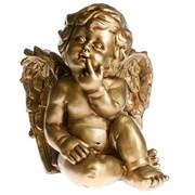 Фигура декоративная Ангел Бронза L23W21H27 см.