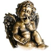 Фигура декоративная Ангел L23W21H27 см.