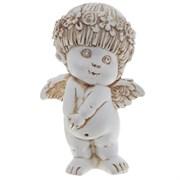 Фигура декоративная Ангел антик L10W8H14.5 cм.