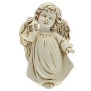 Фигура декоративная Ангел с фонариком антик L11W8H15 cм.