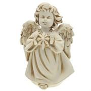 Фигура декоративная Ангелочек со звездочкой антик L11W8H15 cм.