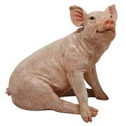 Фигура садовая Свинья L40W25H40 см.