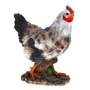 Изделие декоративное Курица пеструшка H35см