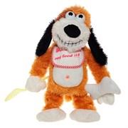 Игрушка мягконабивная Собака с функцией движения и музыкой H30см