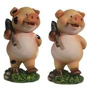 Фигура декоративная Дядя Свин L5.5W6.5H10.5см
