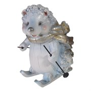 Фигура декоративная Еж в шарфике L8W8H16см