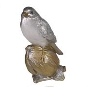 Фигура декоративная Снегирь на орешке L8W8H16см