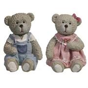 Фигура декоративная Медведь в комбинезоне L5W5.5H5.5см