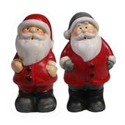 Фигура декоративная Дед Мороз в колпаке L5W3.5H7см