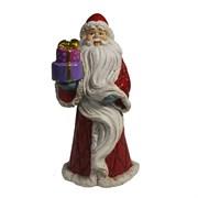 Фигура декоративная Дед Мороз цвет: красный L7W6H14см