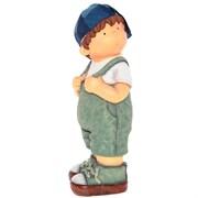 Фигура декоративная Мальчик L18W16H44см