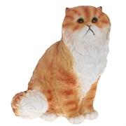 Фигура садовая Кот персидский сидит №2 L26W24H30 см.