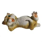 Фигура декоративная Кот ленивый L25W12H9см