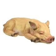 Фигура декоративная Свинка Сонюша L34.5W15H9см