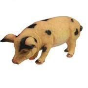 Фигура декоративная Свинка Фуся пятнистая L29.5W12H13см