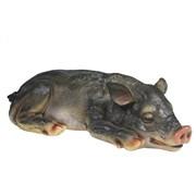 Фигура декоративная Свинка Сонюша II L34.5W15H9см