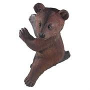 Фигура садовая навесная Медвежонок L29W24H39 см.