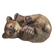 Фигура декоративная Мишка на боку L28W21H16.5см