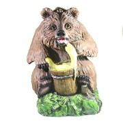 Фигура декоративная Медведь с медом большой L35W37H45см