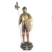 Изделие декоративное Рыцарь L15W17H53см