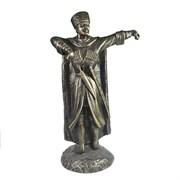 Фигура декоративная Джигит цвет: бронза L19W23H45см