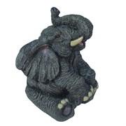 Фигура декоративная Слон цвет: серый L10W9H13.5см