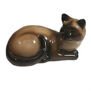 Фигура декоративная Кошка сиамская L17W11H10.5см