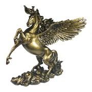 Фигура декоративная Пегас цвет: темное золото L25W17H28см