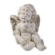 Фигура декоративная Ангел цвет: антик L23W22H26см
