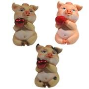 Фигура декоративная Свинка Беллатриса L6.5W5.5H9см