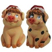 Фигура декоративная Свинка Фрося L8W8.5H11.5см