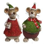 Фигура декоративная Мышонок или Мышка L9W8H15см