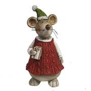 Фигура декоративная Мышка L8W7.5H15см