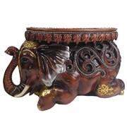 Изделие декоративное Слон цвет: коричневый L55W22H32см