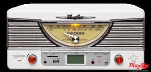 Проигрыватель Playbox Chicago PB-103U-WH