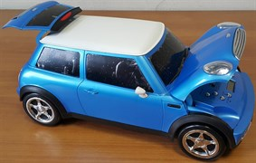 Проигрыватель Playbox Mini Cooper PB-08D-BL