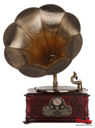 Граммофон Playbox Gramophone-IV PB-1014D-NB