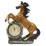 Композиция время Конькруглые часы цвет: акрил L39W17H51см