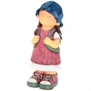 Фигура декоративная Девочка с рюкзаком Н42см.