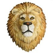 Фигура декоративная навесная Голова льва L24W33H42см