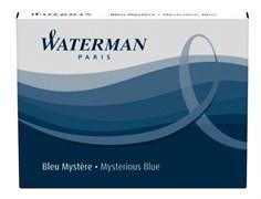 Синий чернильный картридж для перьевой ручки Waterman S0110860